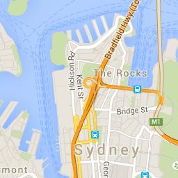 CBD of Sydney